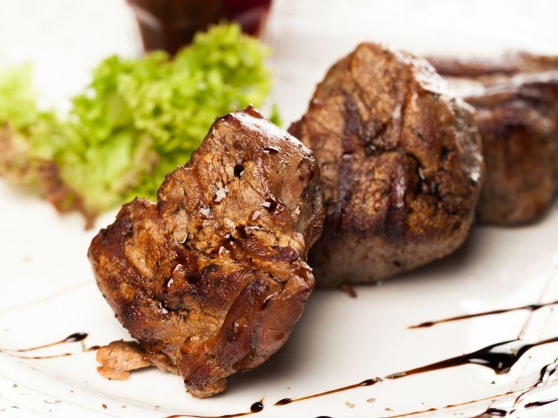 cuisson de viande